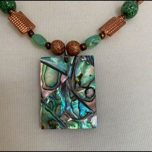 Lucky Stars Jewelry - Abalone Shell Necklace